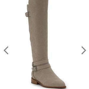 NWOT Lucky Brand praxteen grey boots size 8